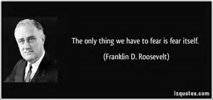 FDR Fear Quote